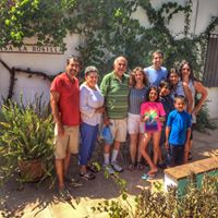 90th Birthday family visit to La Rosilla.
