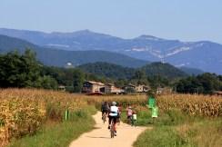 27/09/14 Via Verda a la Vall d'en Bas (Girona). FOTO: PERE DURAN