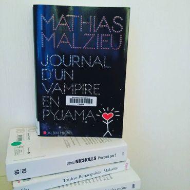 Journal d'un Vampire en Pyjama - Mathias Malzieu