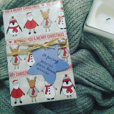 Décembre 2016 - Pull de Noël, retrouvailles et ventre plein !