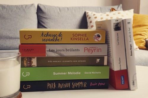 Ma pile à lire de l'été