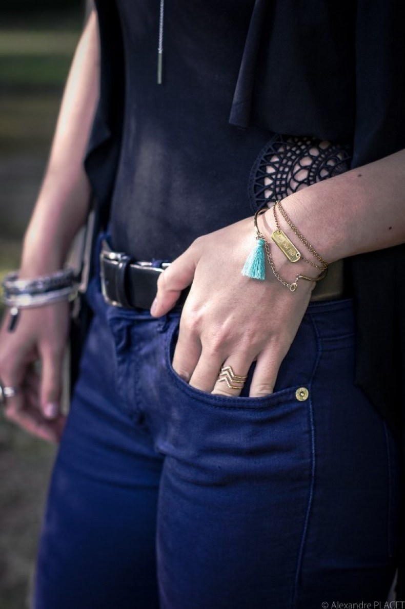 details bracelets - bijoux stella and dot - blog mode lyon