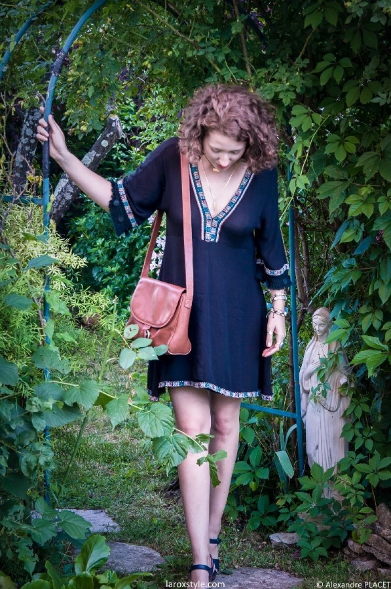 look retro boho - look boho - blog mode lyon