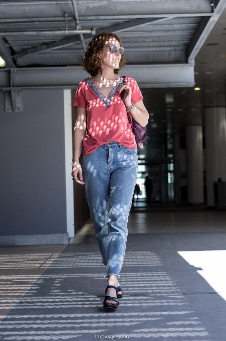 tendance mom jean - blog mode lyon