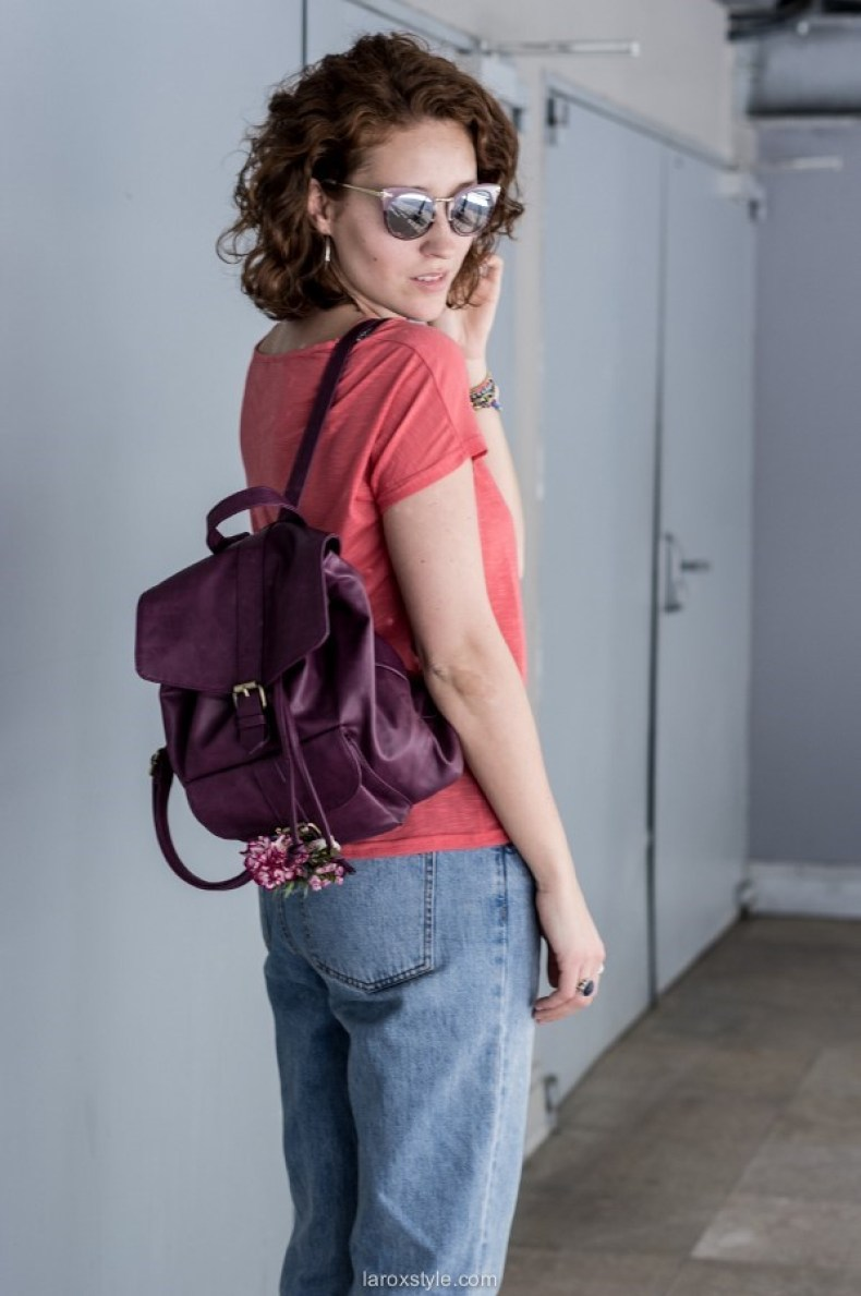 look sac a dos - casual chic outfit