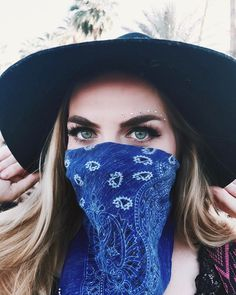 Blog mode lyon laroxstyle top tendance coachella - Bandana instagram dianaelena