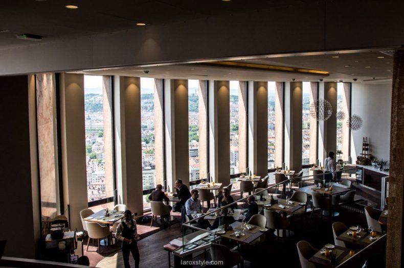 Prendre de la hauteur au Celest Bar Restaurant | Lyon - laroxstyle