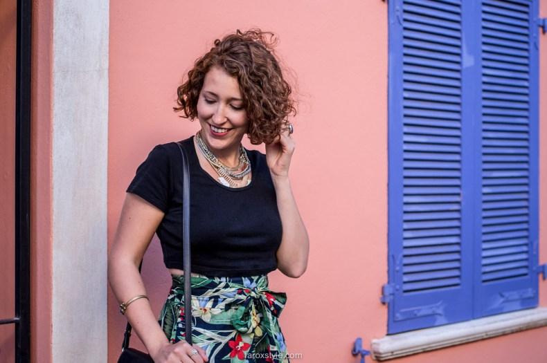 Blog mode lyon - jupe tropicale
