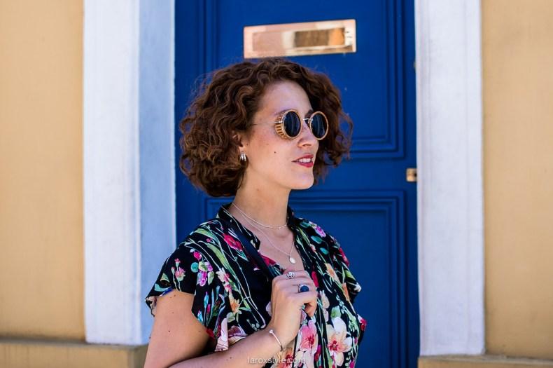 Paris - rue cremieux - lunettes rondes - blogueuse mode