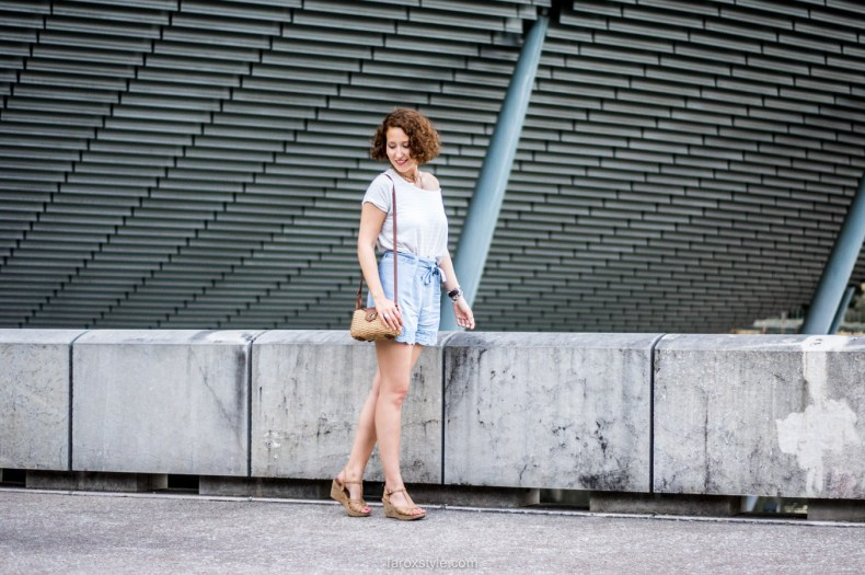summer look - casual chic - blog mode lyon