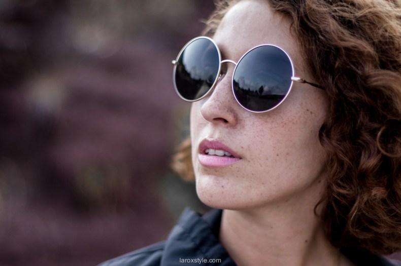 lunettes rondes - blogueuse mode lyon - laroxstyle