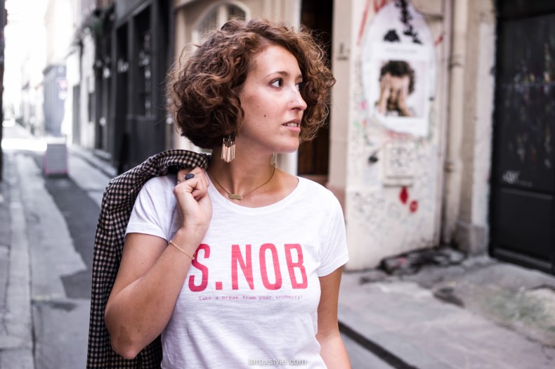 costume femme - tendance costume - t shirt message leonor roversi - SNOB - laroxstyle-9