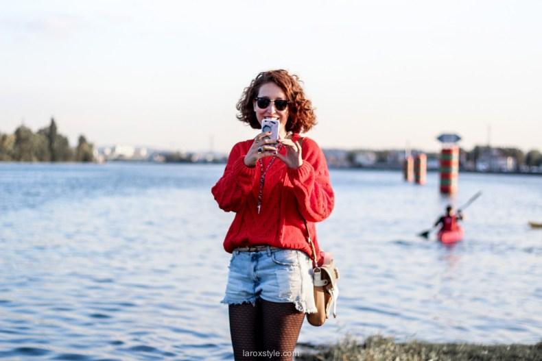 look ete indien - tendance mode rouge - laroxstyle blog mode -22