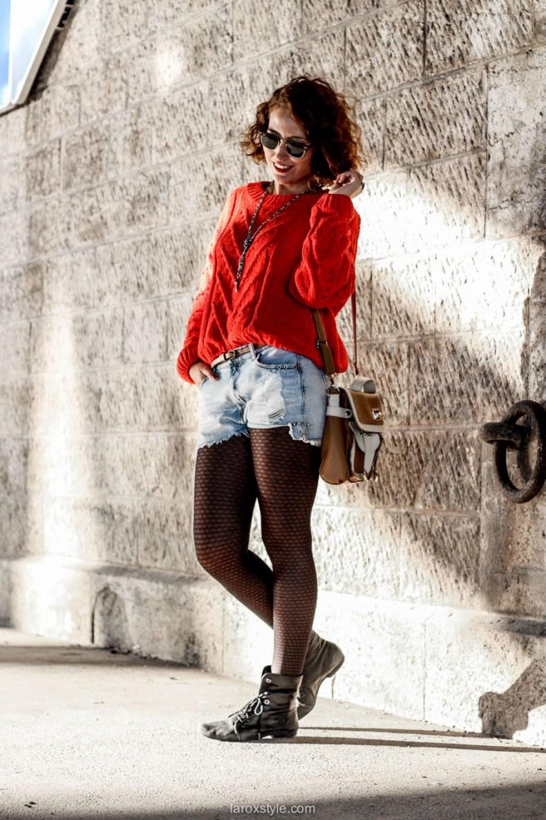 look ete indien - tendance mode rouge - laroxstyle blog mode -3