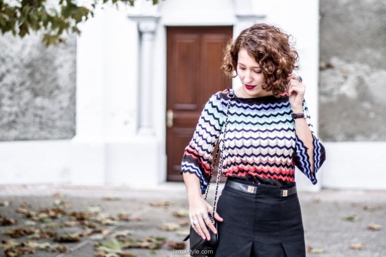 mini jupe trapeze - porter de la couleur en hiver - blog mode lyon - laroxstyle-12