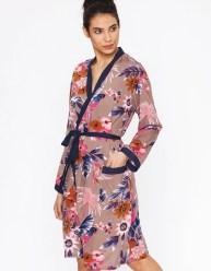 kimono fleurs - fiancee du mekong