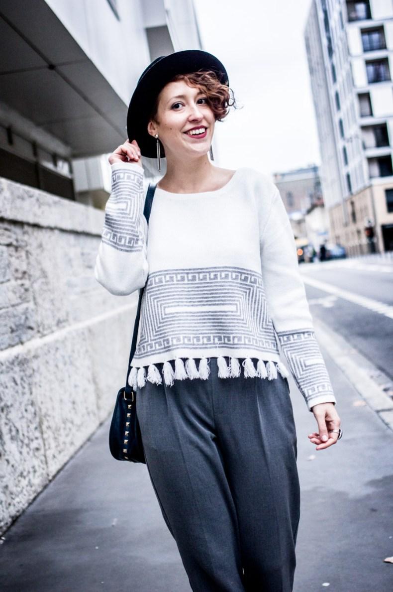 look chic et confort en hiver - laroxstyle