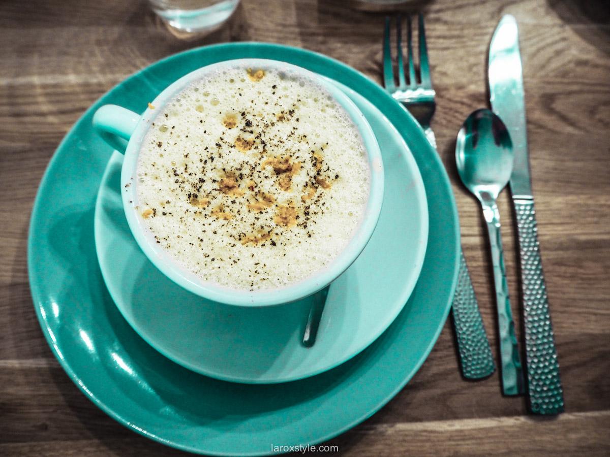 Ginger latte - food lyon