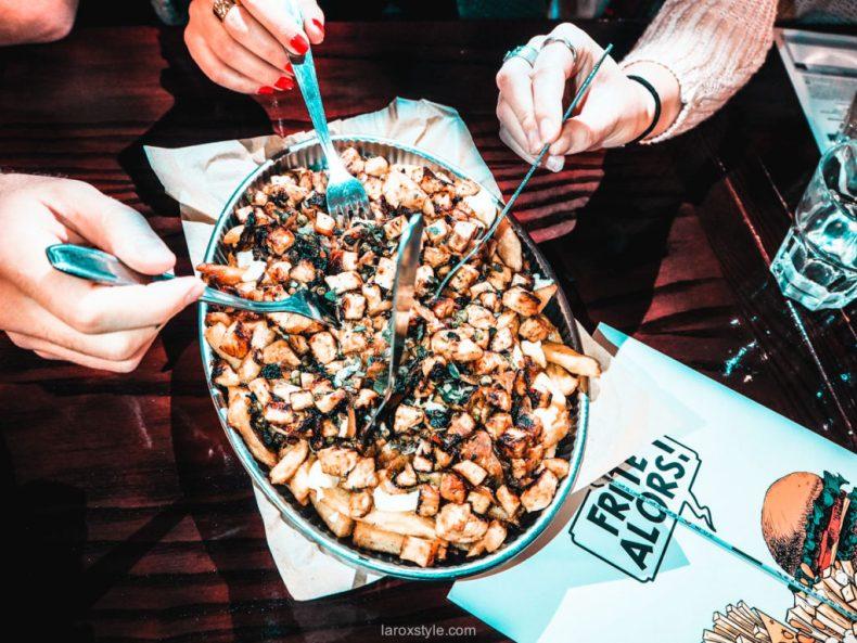 Frites Alors Lyon - Des frites belges à la canadienne - manger de la Poutine à Lyon