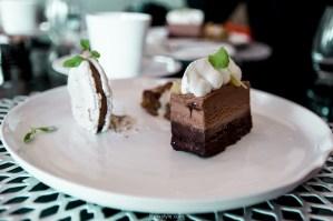 Dessert tout chocolat - Lyon adresses restaurant