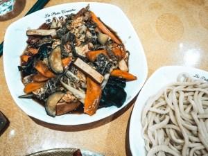 Cuisine asiatique lyon - rue merciere - pates chinoises