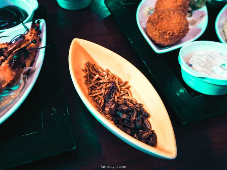 Manger des insectes à Lyon - Mumbai café Lyon