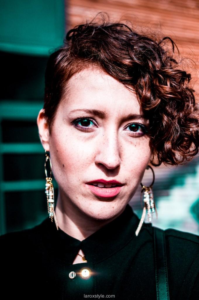 photographie portrait femme - femme rousse - blog mode lyon