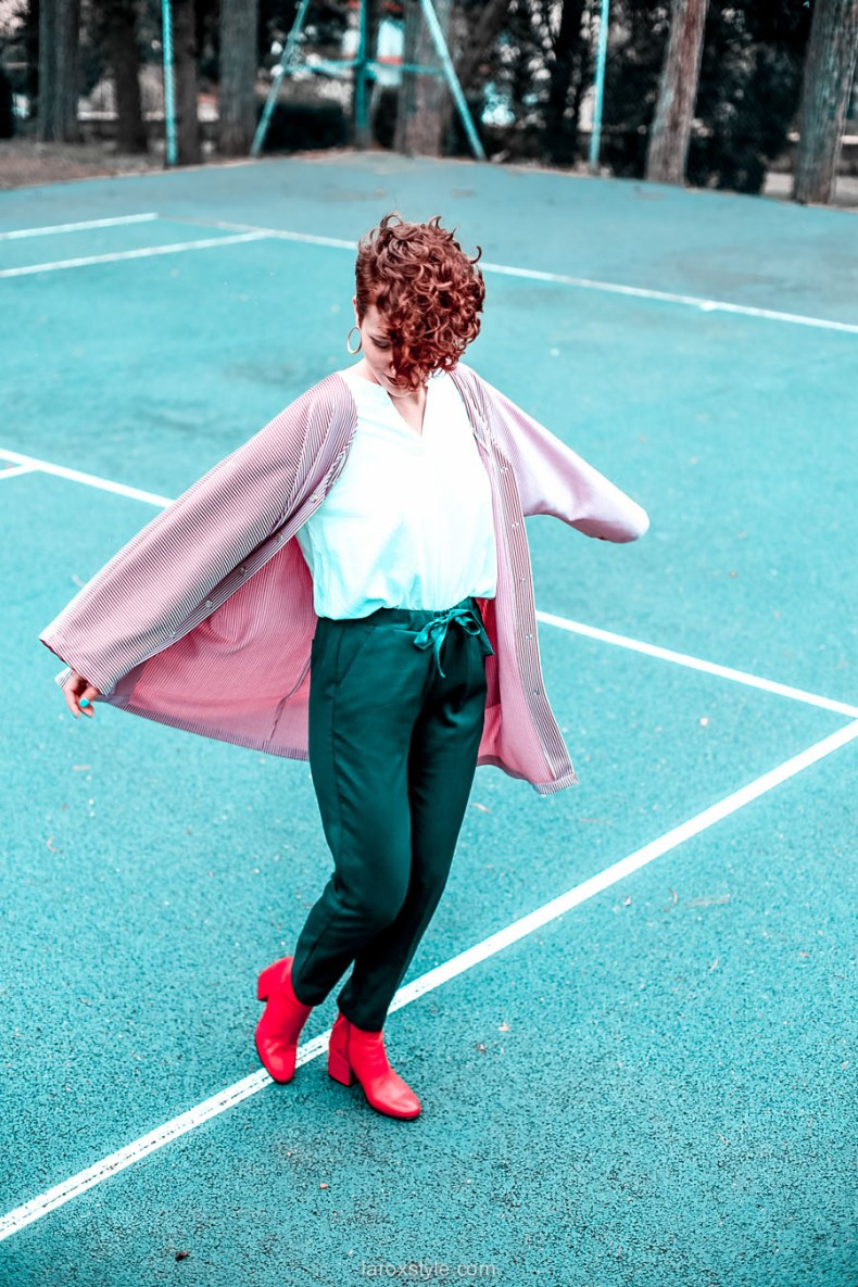 tendance mode Couleurs - look rouge - blog mode - laroxstyle -1