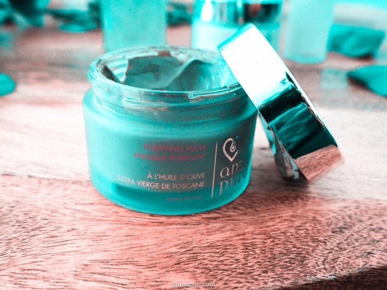 routine beauté bio a l huile d olive - masque purifiant - amore puro