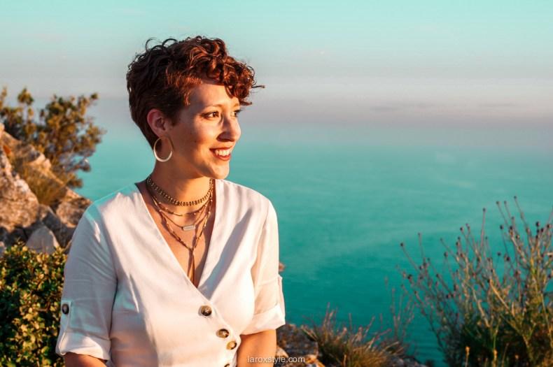voyage à la ciotat - route des cretes - robe blanche zara - blogueuse mode voyage-12