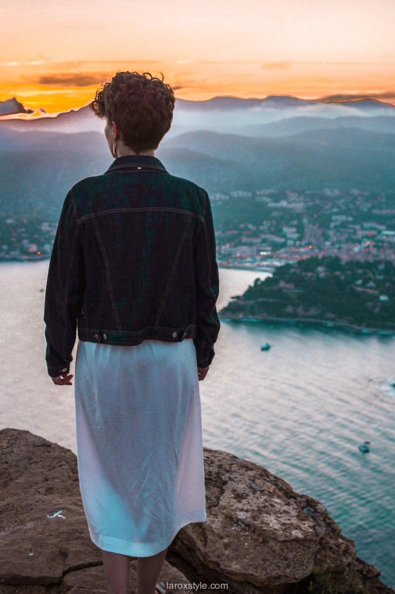 voyage à la ciotat - route des cretes - robe blanche zara - blogueuse mode voyage-23