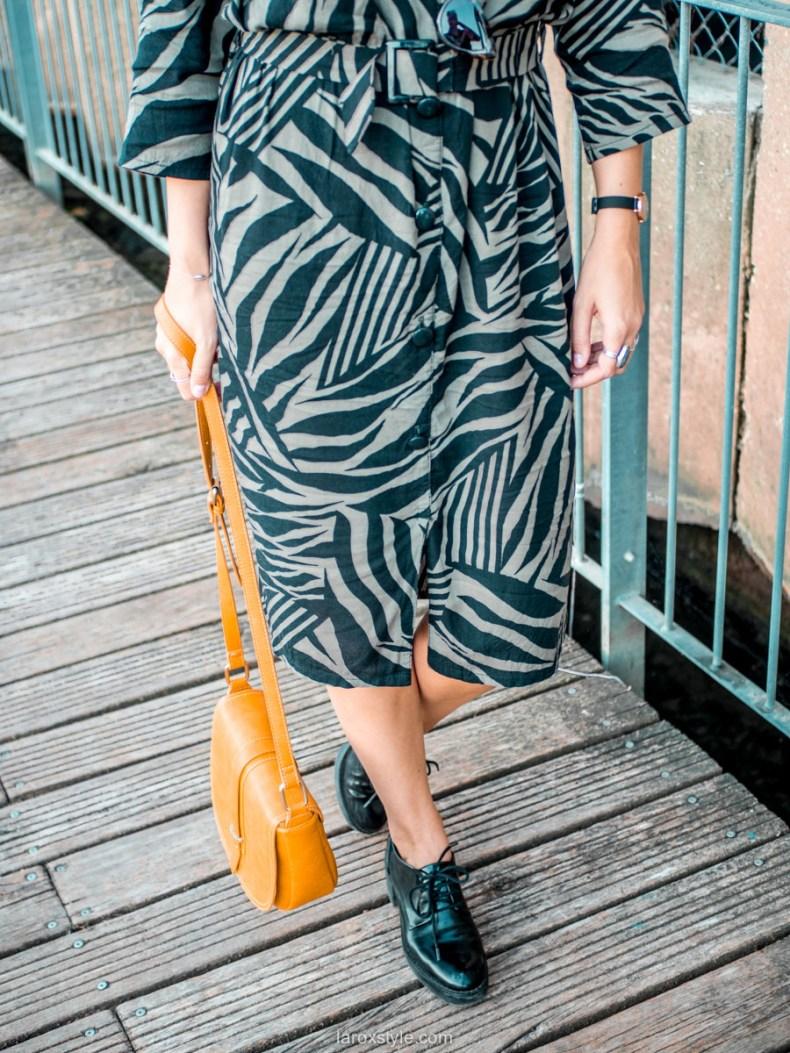 look robe vintage tendance - blog mode lyon