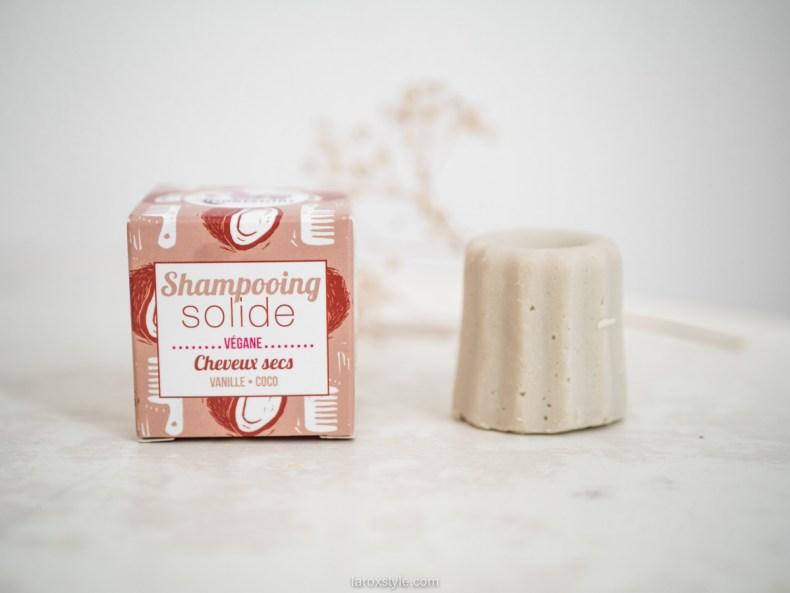 avis shampoing solide cheveux secs vegan lamazuna - avis itineraire beaute