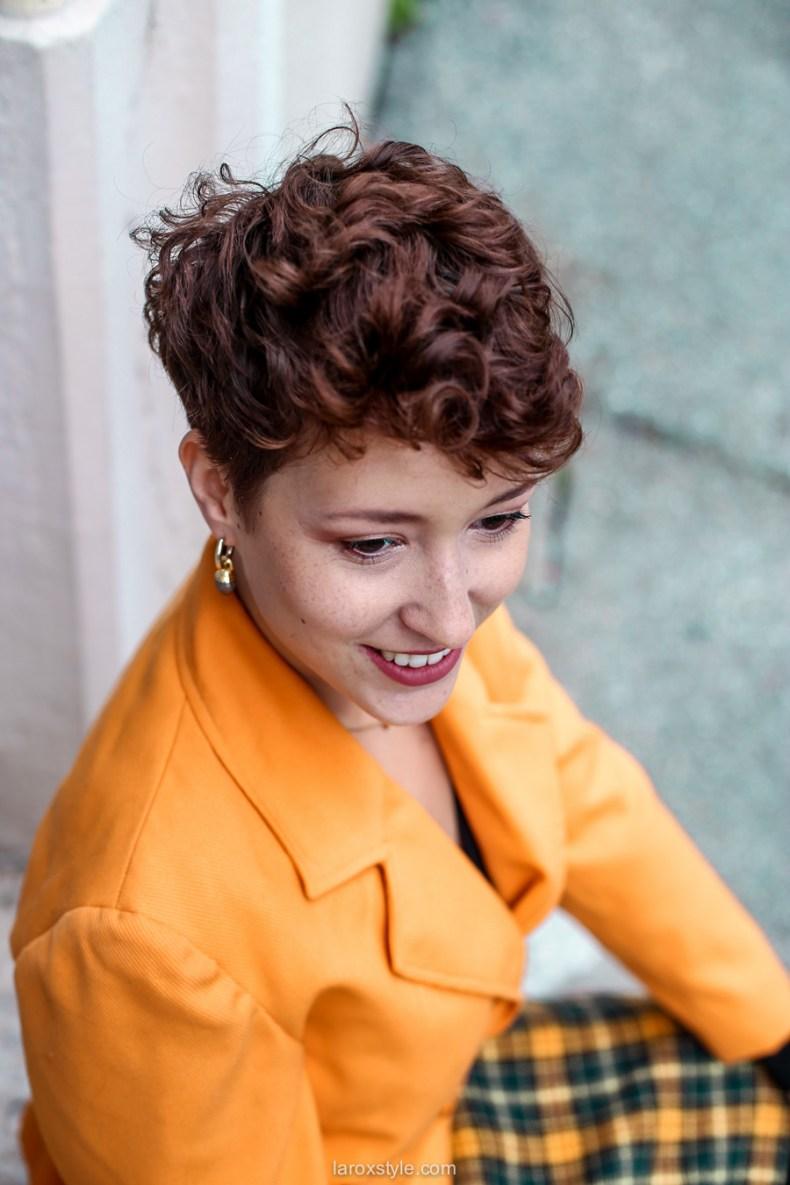 comment oser un look vintage orange pour l automne - chez biche-7