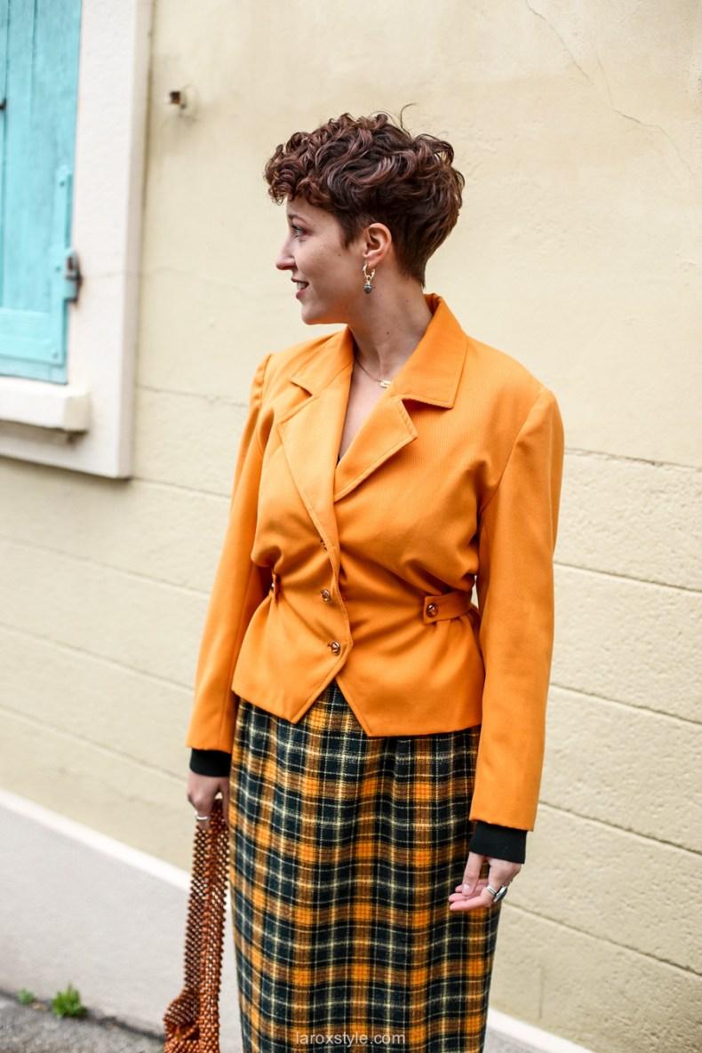 comment oser un look vintage orange pour l automne - chez biche-8