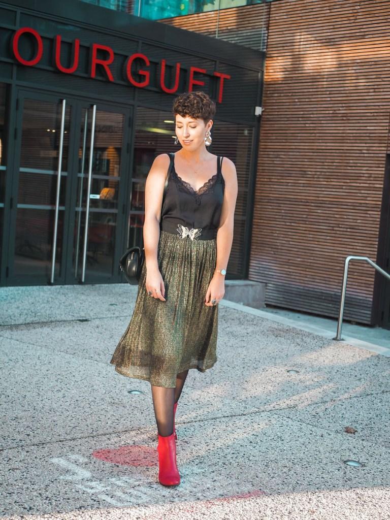 blog look de fetes jupe a paillettes