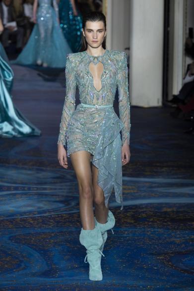 blog retour fashion week haute couture printemps ete 2019 - defile zuhair murad