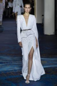 blog retour fashion week haute couture printemps ete 2019 - defile zuhair murad