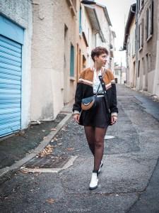 blog mode look veste teddy moumoute