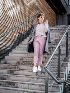 idee look blog total look rose - comment porter le total look rose sans ressembler a barbie