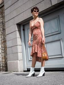 quelles tenues pour une invitee a un mariage - robe legere a volants - blog mode