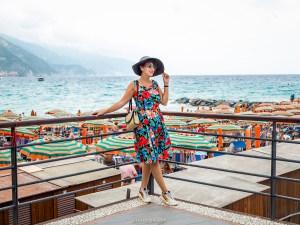 une journee au cinque terre - look vintage monterosso