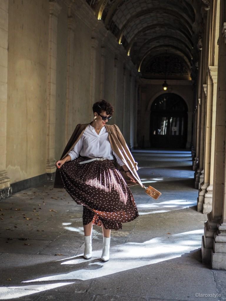 comment porter la jupe longue avec style