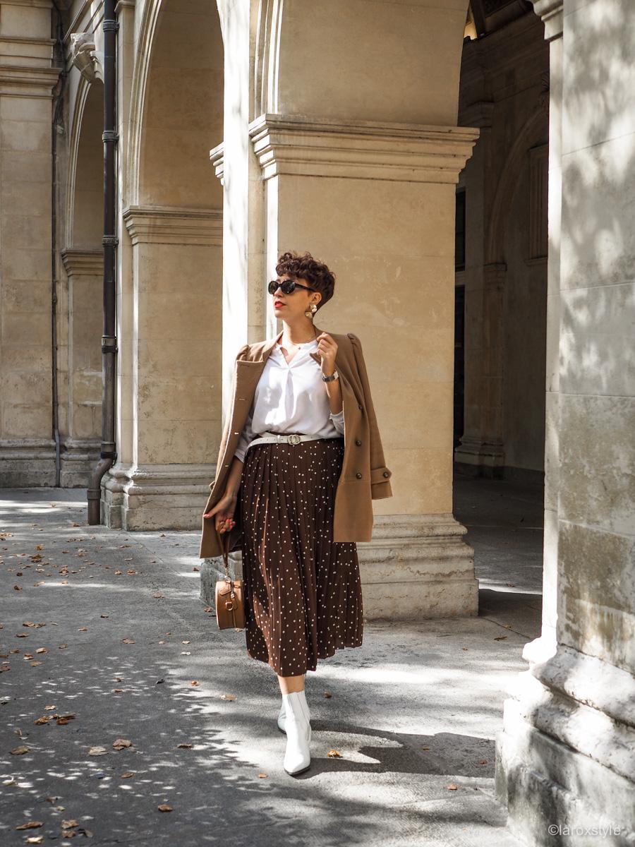 Comment porter la jupe longue en Automne Hiver ? • LaRoxStyle