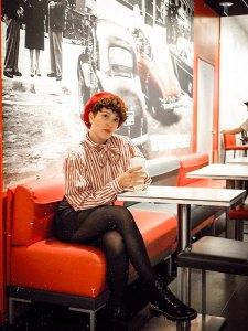 fast food photoshoot