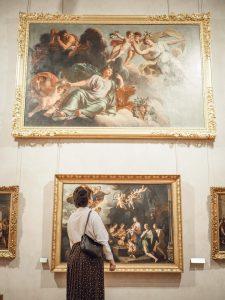 shooting au musee des beaux arts de lyon - museum photoshoot