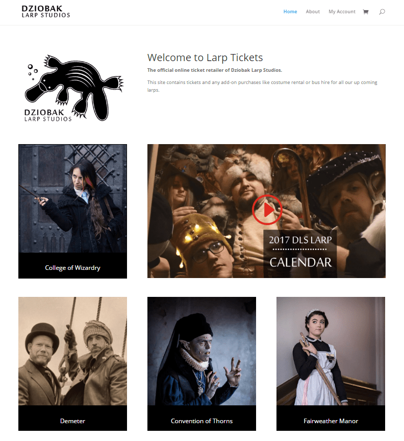 Larptickets and LARPBook