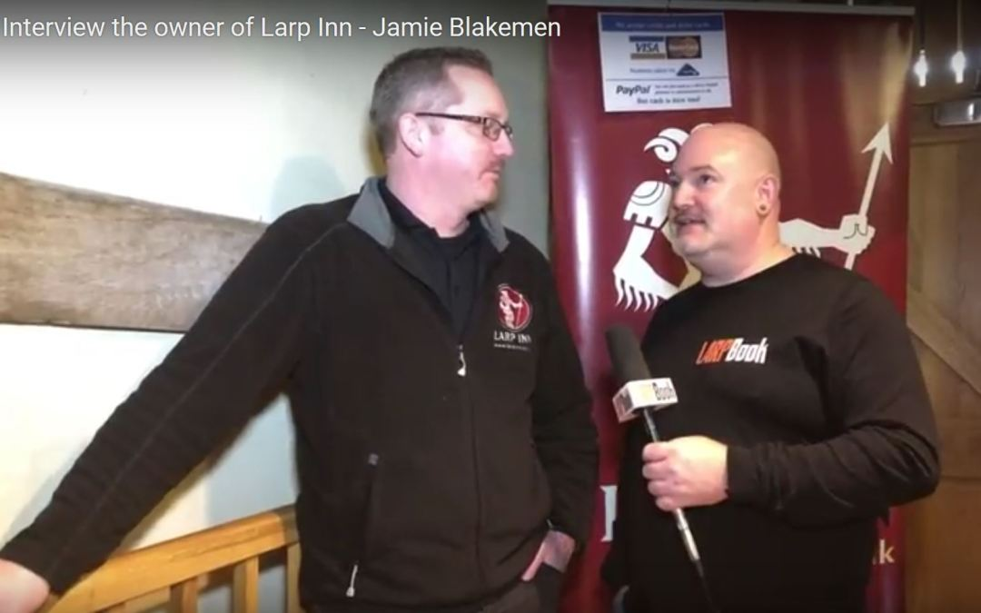 What's Your Game 2018: Interview with Jamie Blakemen of Larp Inn