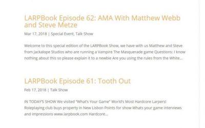 Introducing LARPBookMedia.com
