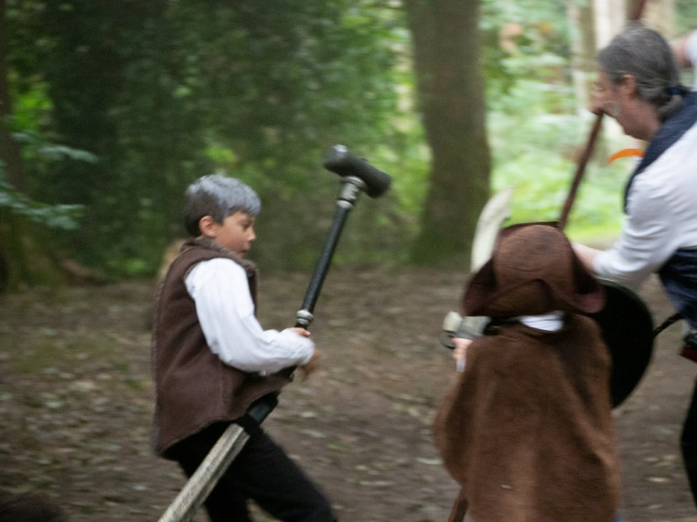 At the kids larp adults beware